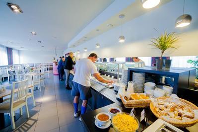 Hotel Tia ontbijt Riga Letland