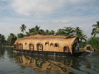 Backwater boot Zuid-India