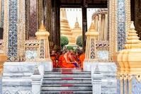 Monniken Bangkok Thailand