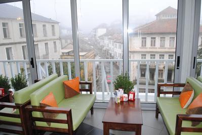 Hotel Cajupi restaurant Gjirokaster Albanie