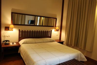 Hotel Mangalemi kamer Berat Albanie