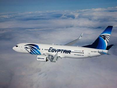 Egypt Air vliegtuig