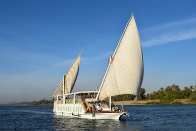 Dahabiya boot Egypte