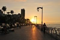 Boulevard Beiroet Libanon