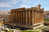 Tempel Baalbek Libanon
