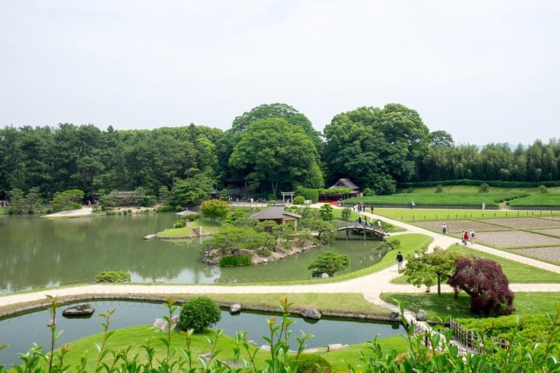Korakuen tuin, Okayama