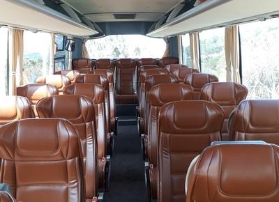 Libanon bus binnenkant