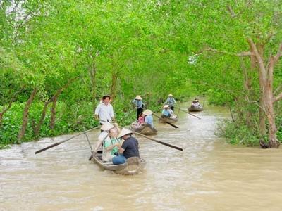 Boottocht Cai Be Vietnam