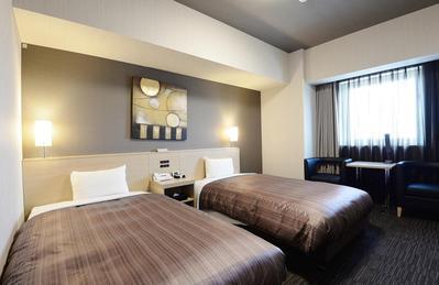 Hotel Route-Inn Grand Asahikawa Ekimae kamer Japan
