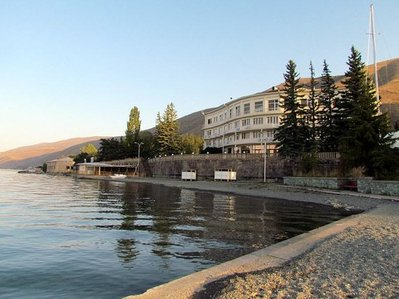 Hotel Blue sevan in Armenia
