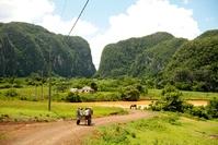 Vinales vallei paardenkar Cuba