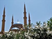 Moskee Beiroet Libanon