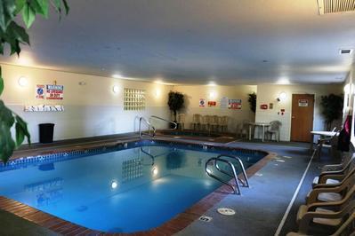 Guesthouse Inn en Suites zwembad Kelso Amerika