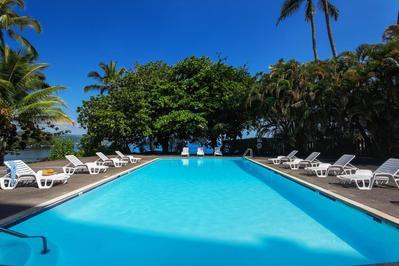 Castle Hilo Hawaiian Hotel zwembad Hawaii Amerika