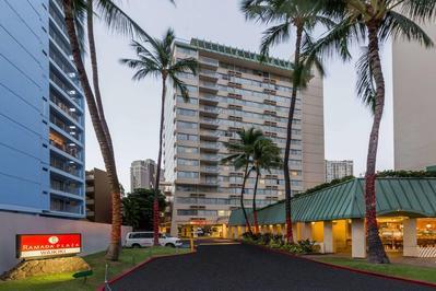 Ramada Plaza Waikiki Hawaii Amerika