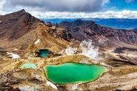 Tongariro nationaal park Nieuw-Zeeland