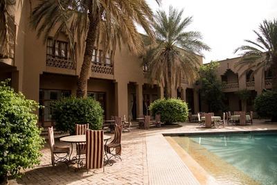 Zwembad Hotel Erfoud Marokko