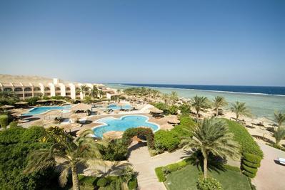 Flamenco Hotel zwembad Quseir Egypte