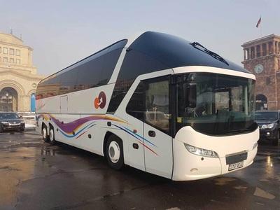 tourbus in Armenië