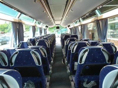 tourbus Armenië interieur