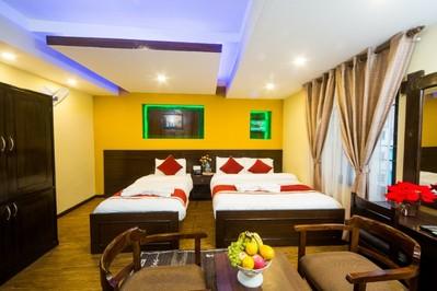 Hotel Thamel in Kathmandu Nepal Djoser