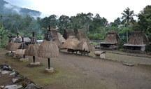 Luba dorp Sunda Eilanden, Indonesië