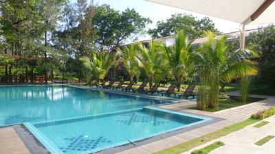 Zwembad Hotel Pollonaruwa