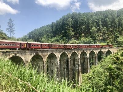 Trein naar Ella Sri Lanka