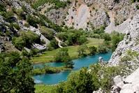 Krupa rivier Kroatië