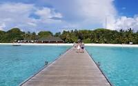 Malediven Pier