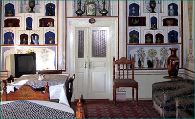 Iran Turkmenistan Oezebekistan hotel accommodatie overnachting rondreis Djoser