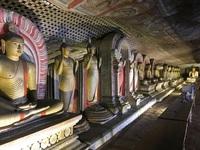 Dambulla Boeddhas Sri Lanka