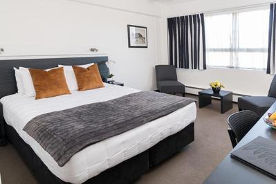 Bay Plaza Hotel kamer Wellington Nieuw-Zeeland