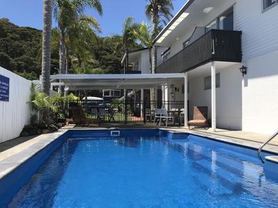 Edelweiss Motel zwembad Paihia Nieuw-Zeeland