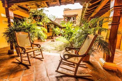 Casa Amarilla veranda Mompox Colombia