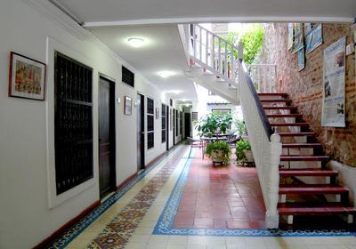 Hotel Villa Colonial hal Cartagena Colombia