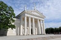 Kerk Vilnius Litouwen