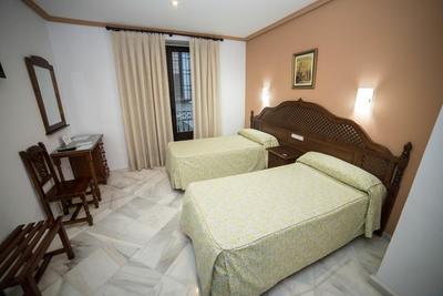 Hotel Los Omeyas kamer Cordoba Spanje