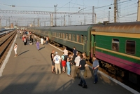Transsiberië Express trein