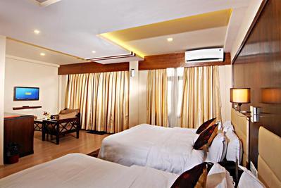 Hotel Thamel kamer Kathmandu Nepal