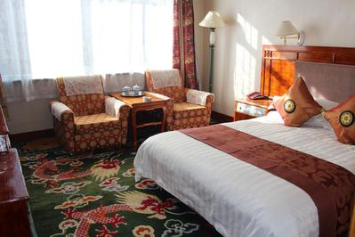 Gyantse hotel kamer Tibet