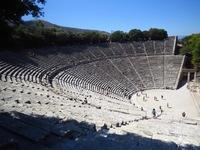 Theater Epidaurus Griekenland