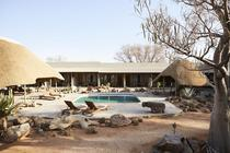 Solitaire Lodge zwembad 2 Solitaire Namibie