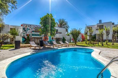 Hotel la Casa de mi Abuela zwembad Arequipa Peru
