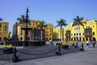 Plaza Mayor plein Lima Peru