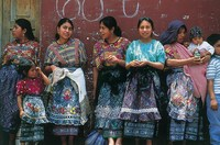 Lokale dames in Guatemala