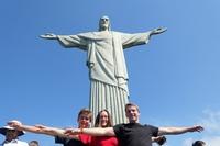 Djoser Brazilie Rio de Janeiro Christusbeeld Corcovado