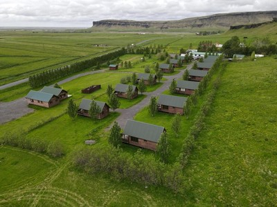 Hörgsland cottages, Skaftárhreppi, IJsland
