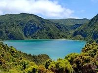 Djoser Azoren Ponta Delgada vuurmeer Lagoa do Fogo