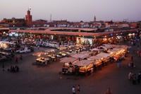 Marrakech Djemaa El Fna Marokko